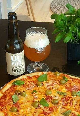 NýrÚlfur og pizza